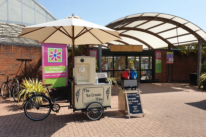 Promo The Ice Cream Trike Food & Drink Supplier West Midlands
