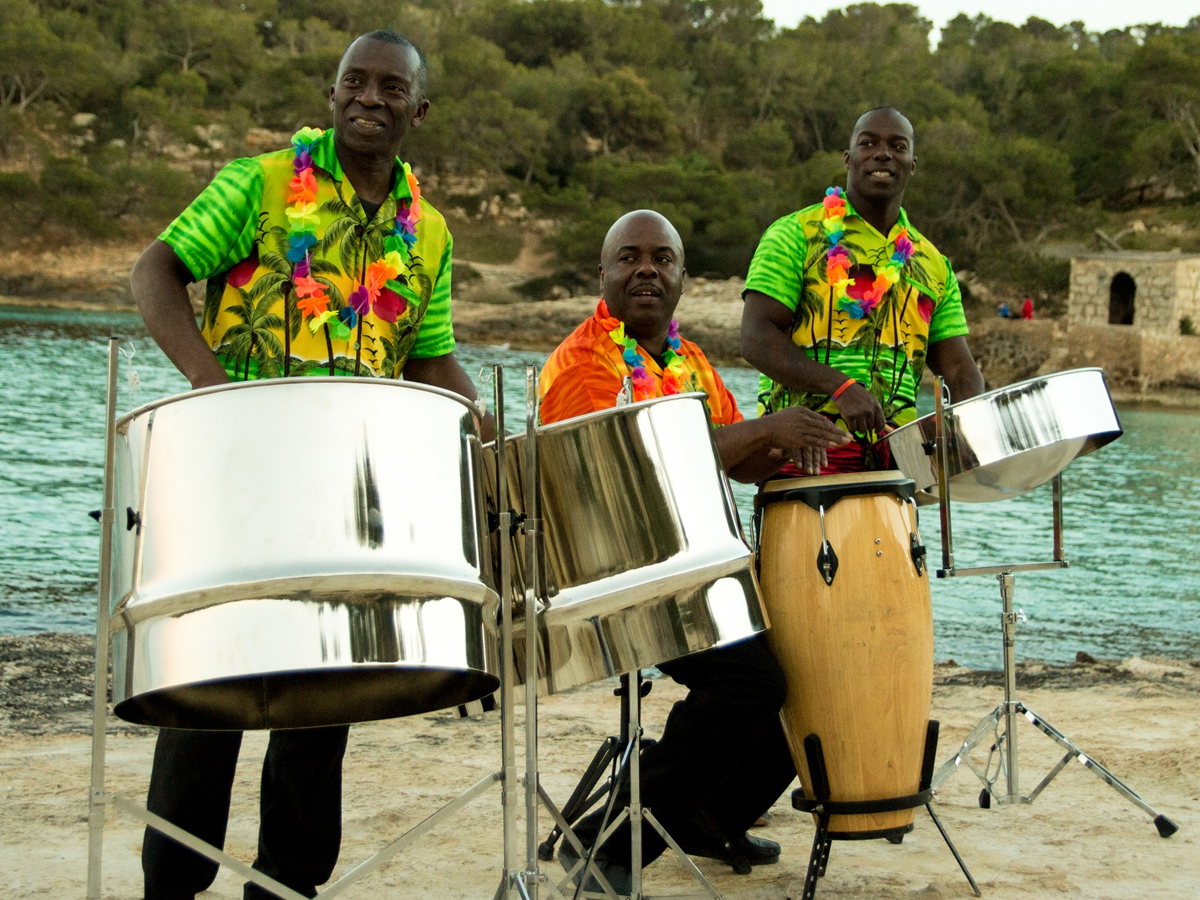 Promo The Island Boys Steel Band  Greater Manchester