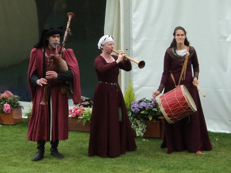 Promo The Kings Minstrels Medieval Musician Edinburgh