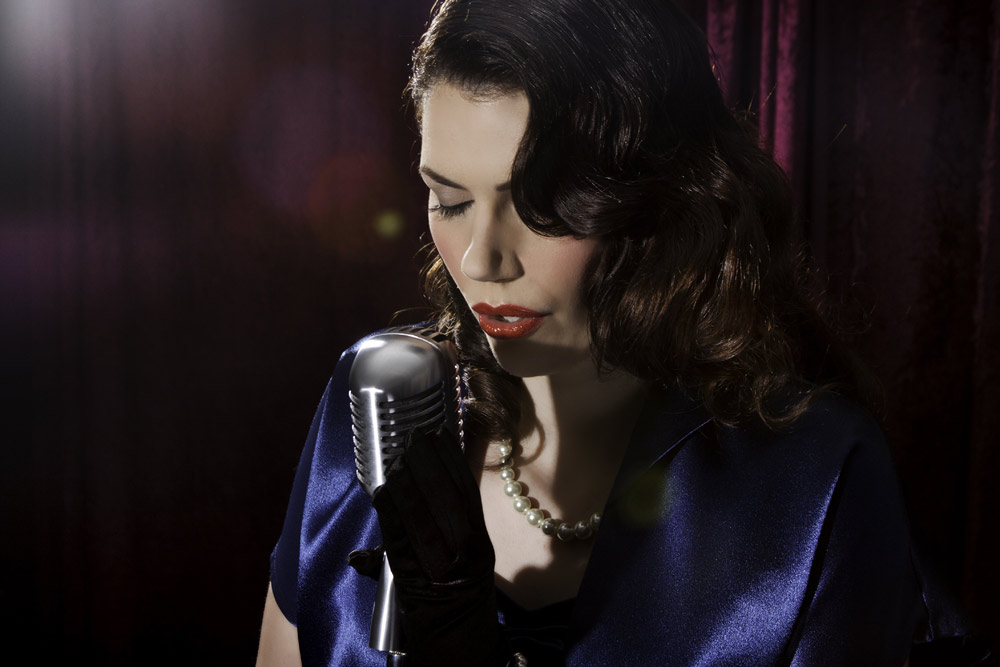 Promo The Lady Sings Vintage  North Yorkshire