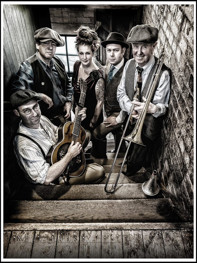 Promo The Prohibition Jazz And Blues Band 1920s & 1930s Vintage Band Stoke On Trent, Staffordshire