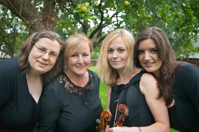 Promo The Radyr Quartet  Vale of Glamorgan