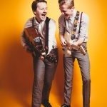 Promo The Retrobates Retro Rock n Roll / Pop Party Duo Hove, East Sussex