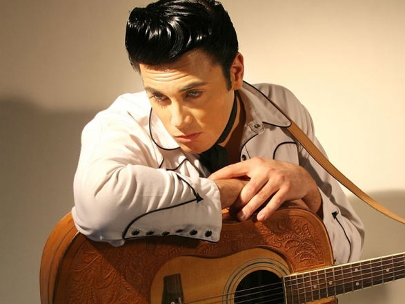 Promo (Elvis Tribute) The Rock and Roll Years Elvis Presley Tribute Act Kent
