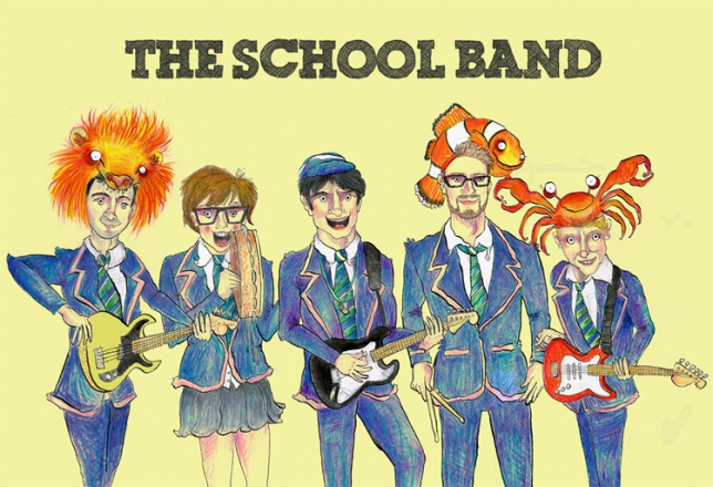 Promo The School Band Function Band Wiltshire