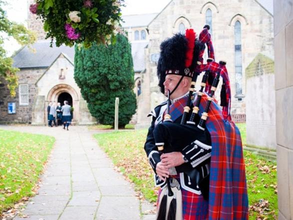 Promo The Scottish Piper Piper Durham