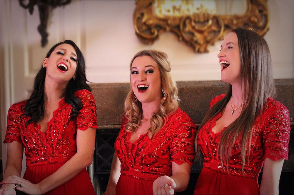 Promo The Silver Belles Christmas Vocal Harmony Quartet Hertfordshire