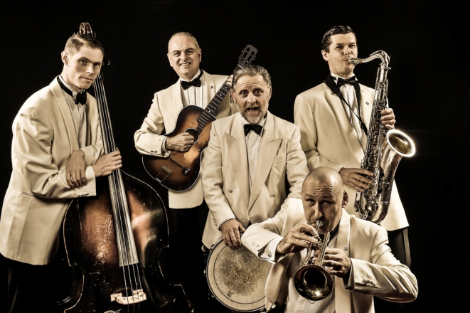 Promo The Sinatra Swingers Jazz Band Greater Manchester