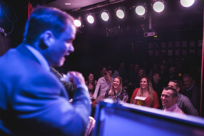 Promo The Stand Up Magician Comedian Bristol