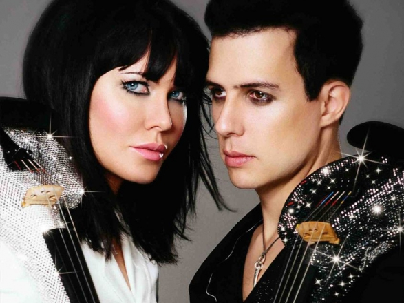 Promo The Swarovski Violinists Electric Violin Duo London