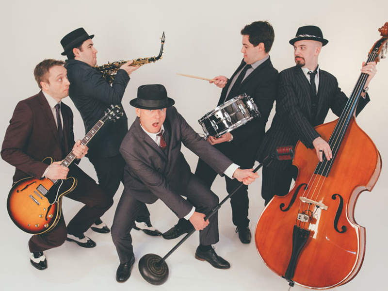 Promo The Swing Cats Rock n Roll Swing Band Kent