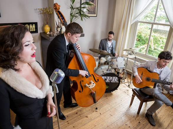 Promo The Tones Jazz and Swing Band Jazz Band London