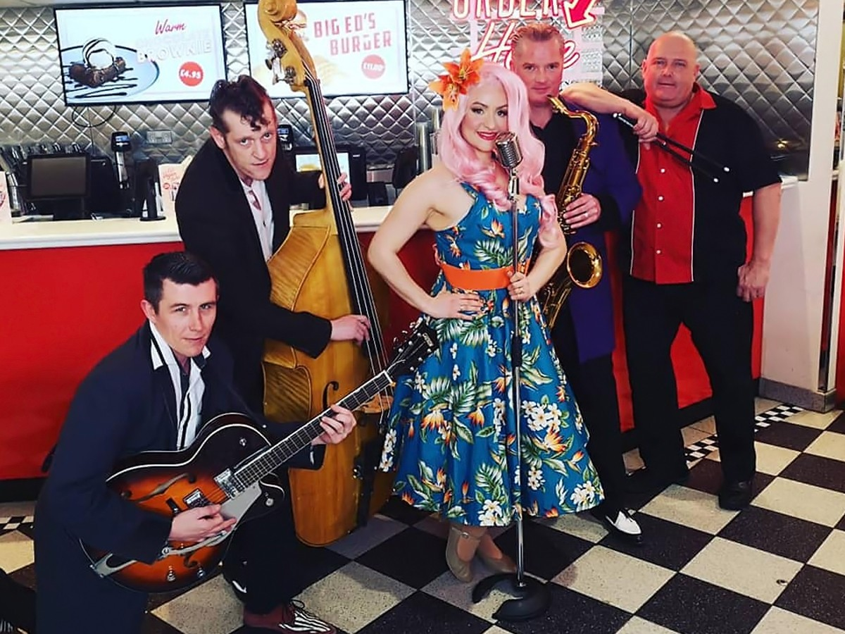 Promo The Tutti Fruttis Rock n Roll Swing Band Derbyshire