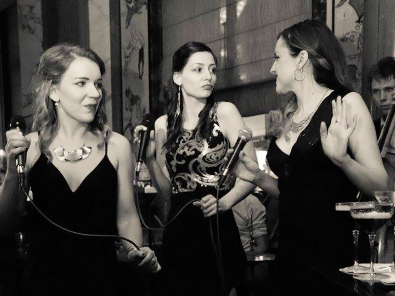 Promo The Vintage Swing Syndicate Vocal Harmony Trio London