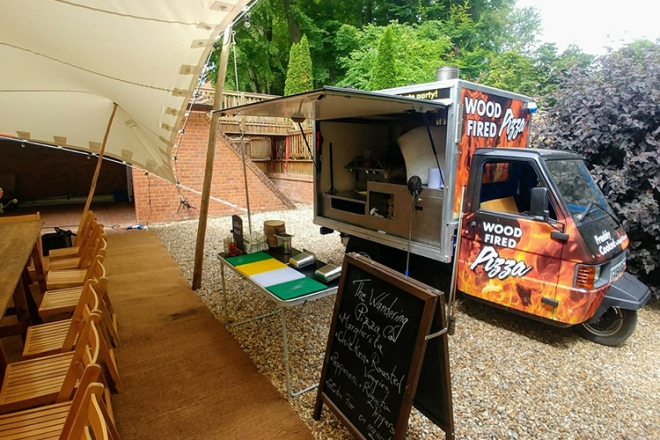 Promo The Vintage Woodfired Pizza Company Food & Drink Supplier Warwickshire