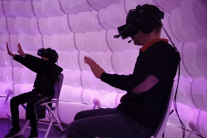 Promo The Virtual Reality Company Virtual Reality Games Derbyshire
