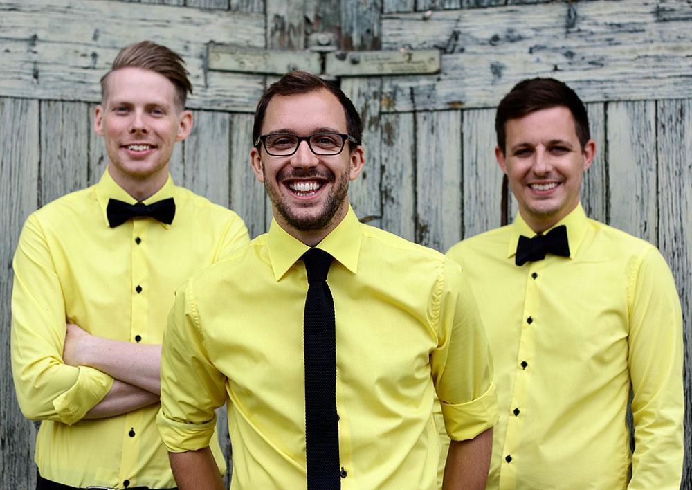 Promo The Yellow Fellows Live-Lounge Style Trio London