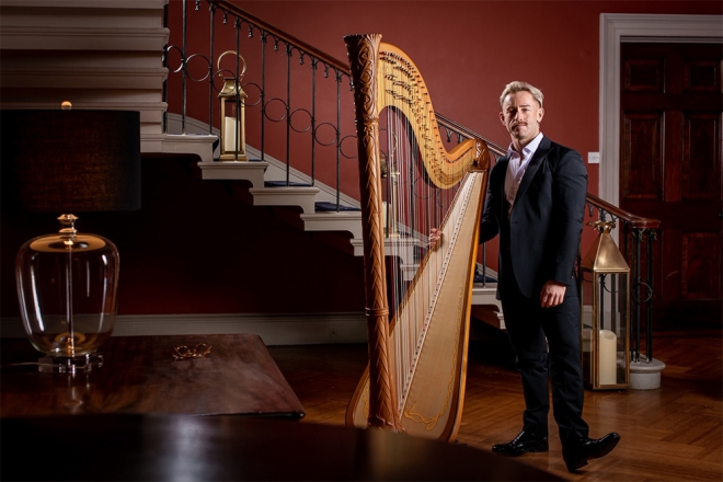 Promo Thomas (Harpist) Harpist London