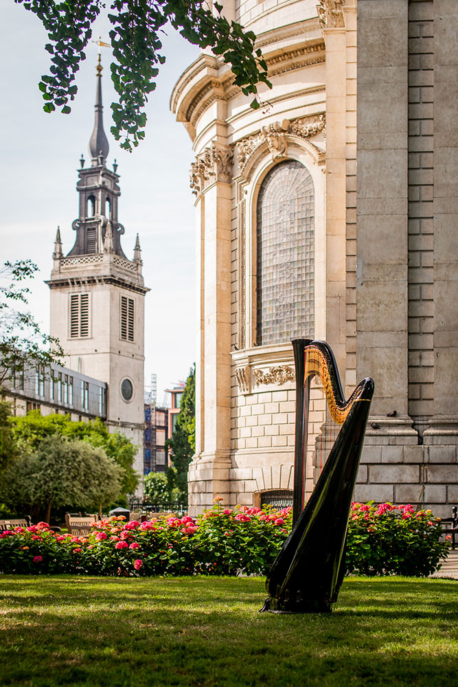 Promo Thomas (Harpist) Harpist London