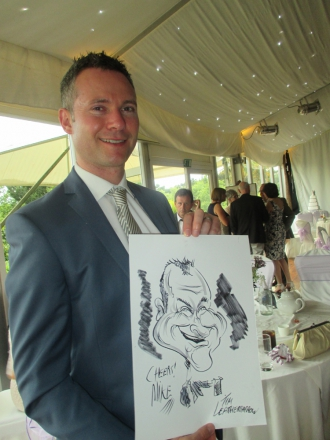 Promo Tims Cracking Caricatures  Cheshire