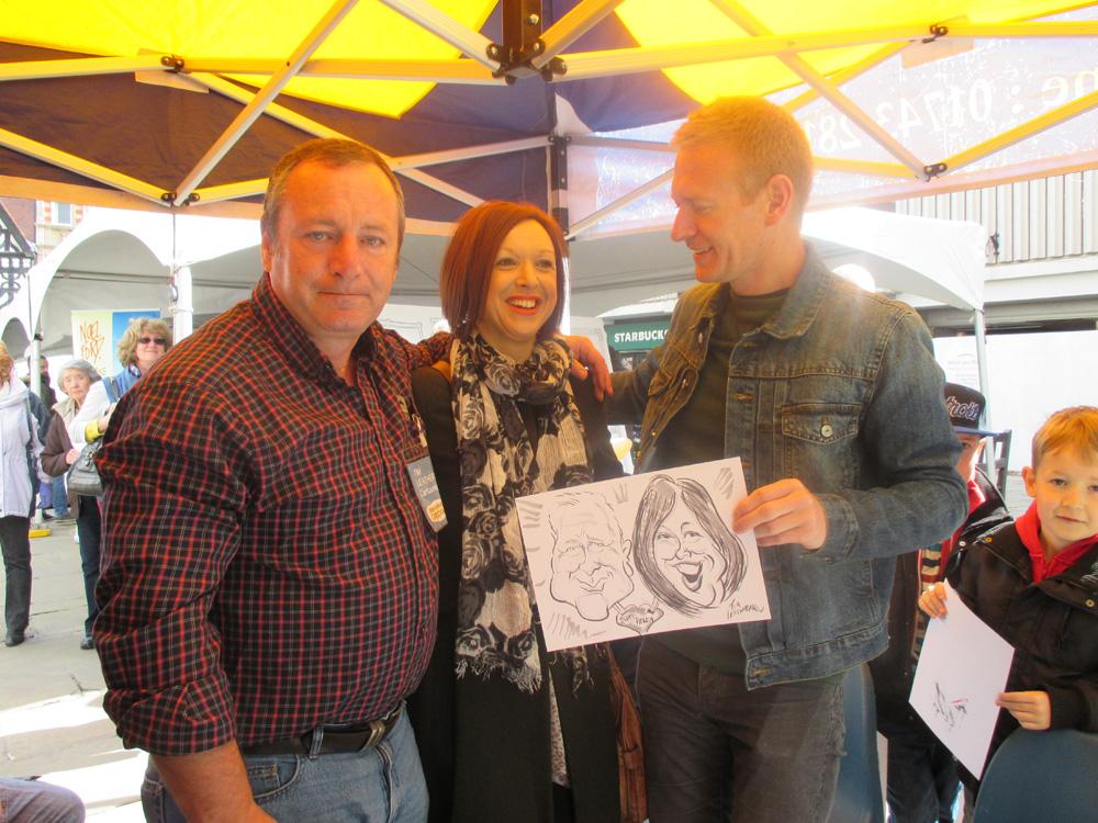 Promo Tims Cracking Caricatures Caricaturist Warrington, Cheshire