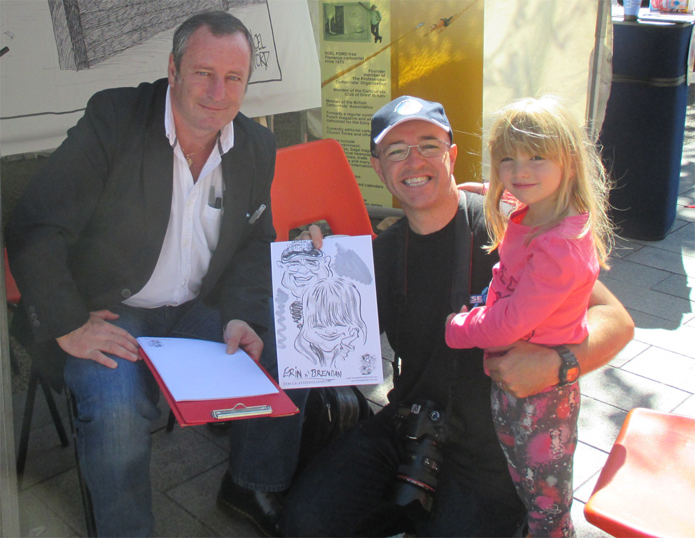 Promo Tims Cracking Caricatures Caricaturist Warrington, Cheshire