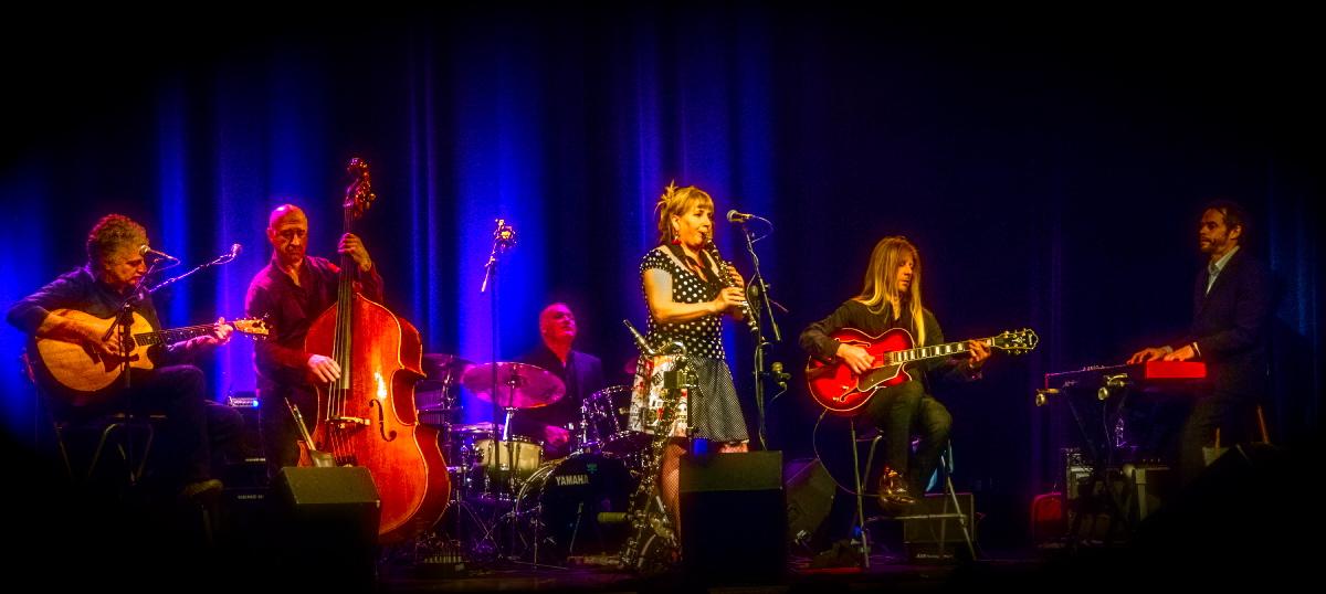 Promo Paris Affair Jazz Band Swansea