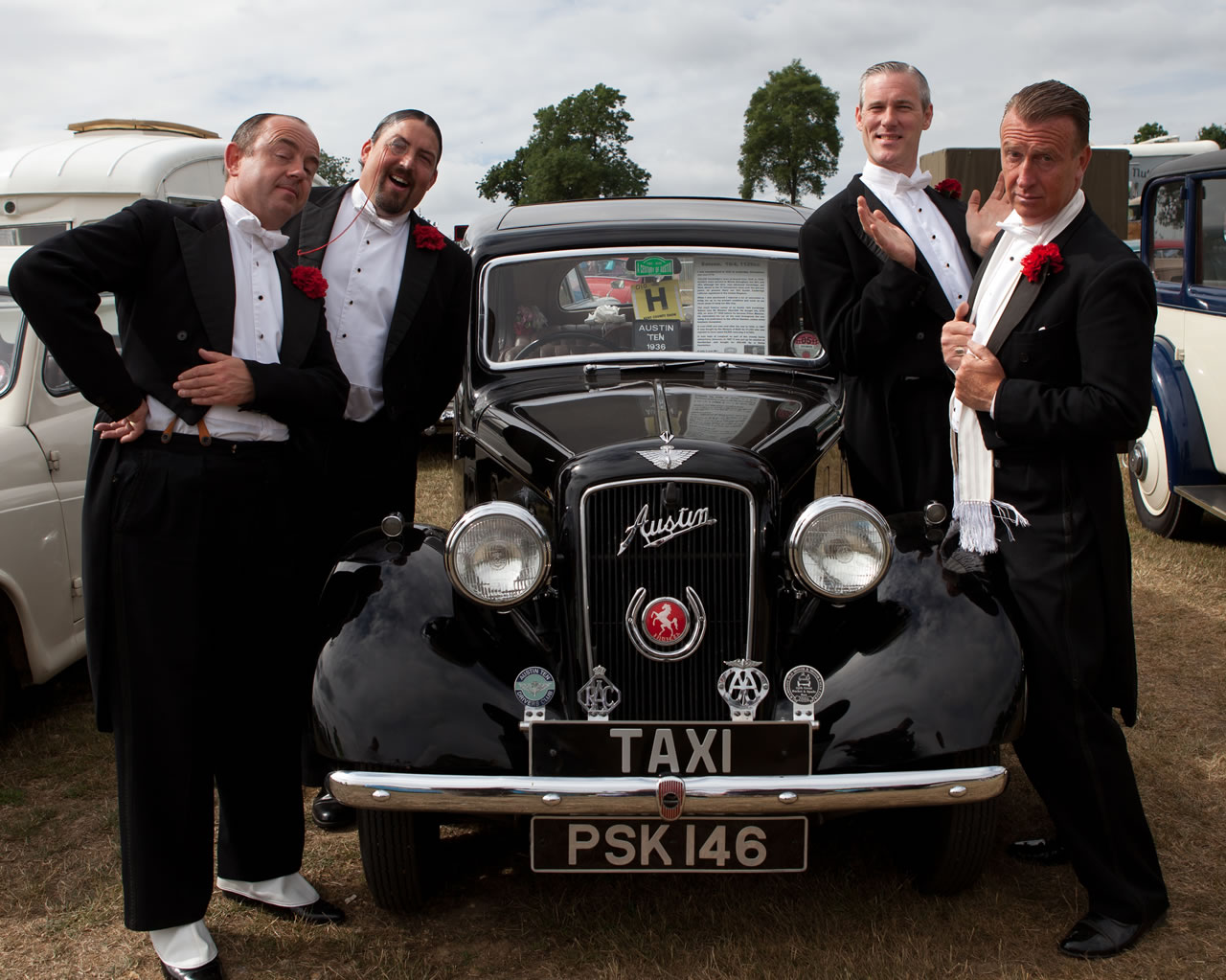 Promo Toffs In Tails  Stockport, Greater Manchester, Lancashire