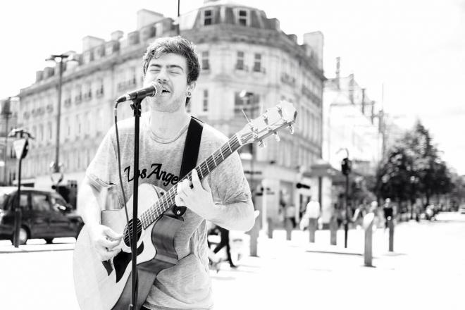 Promo Tom Rolley Singer Guitarist West Yorkshire