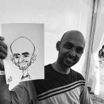 Promo Michael The Artist Caricaturist Bedfordshire