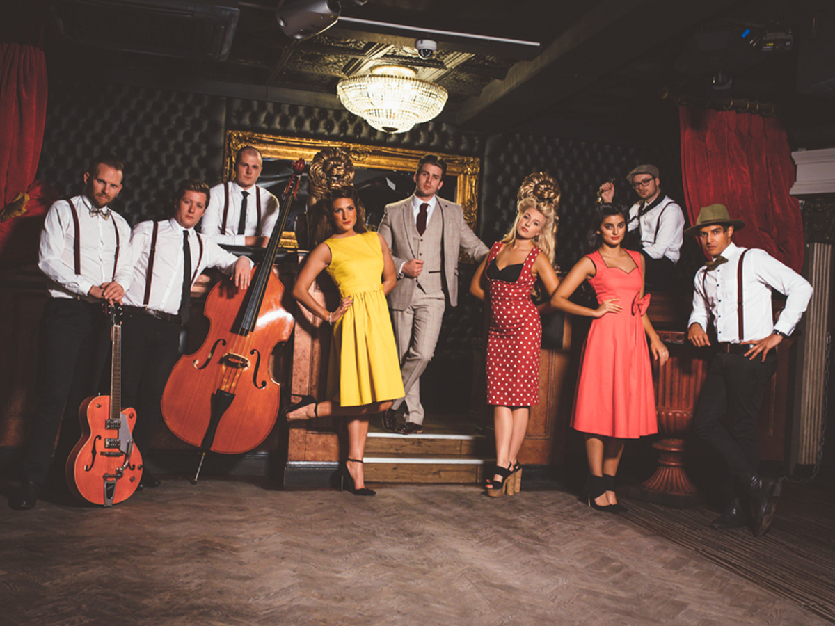 Promo Twisted Swing Rock n Roll Swing Band Kent