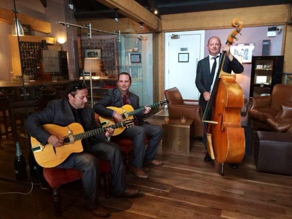 Promo The Gypsy Creams Gypsy Swing Trio East Sussex