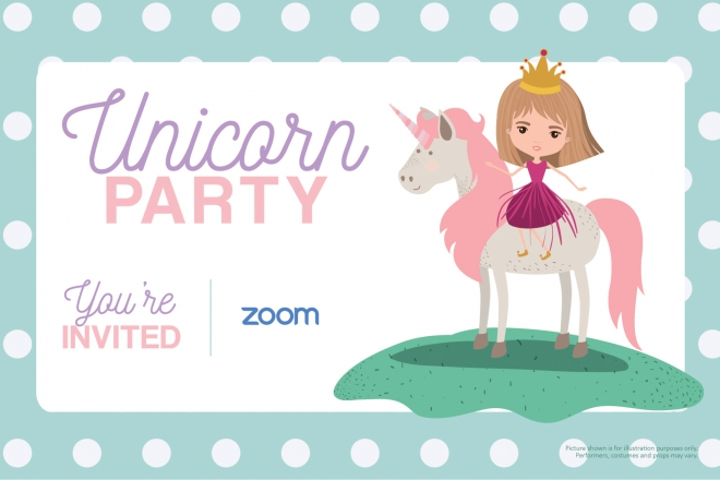 Promo Online Unicorn Party Online Kids Party Staffordshire