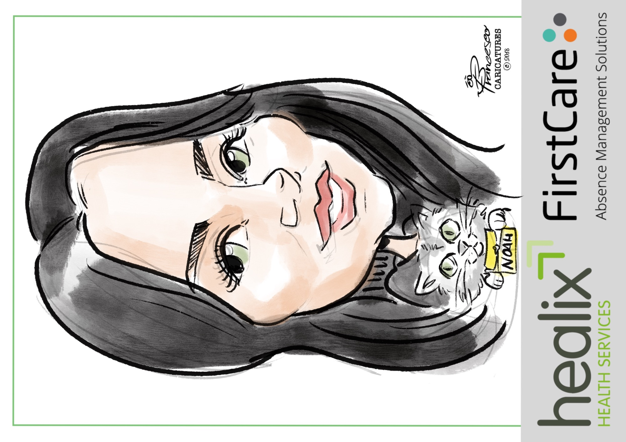 Promo Francesco Digital Caricatures  London
