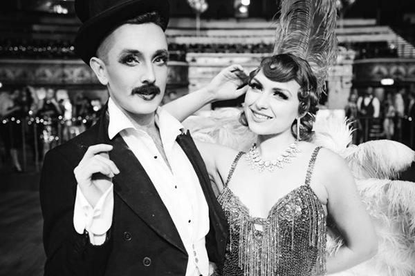 Promo Vintage Cabaret Show Circus Performer East Sussex