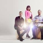 Promo Vinyl Beats Trio Rock and Pop Trio London