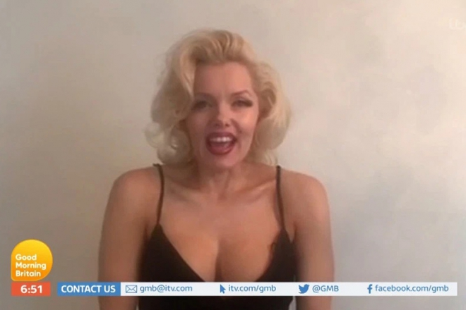 Promo Virtual Happy Birthday With Marilyn Monroe Lookalike London
