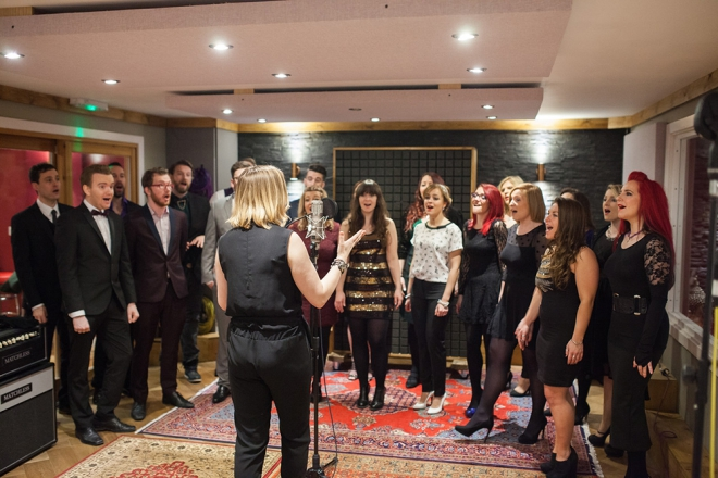Promo Vocally Bespoke Contemporary Vocal Group / Rock & Pop Choir London