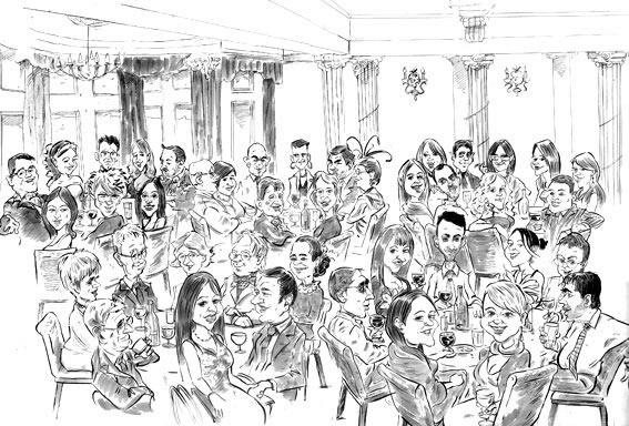 Promo Mike Bryson Caricaturist West Yorkshire