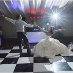 Promo Black and White Dance Floor Dance Floor Hire West Yorkshire