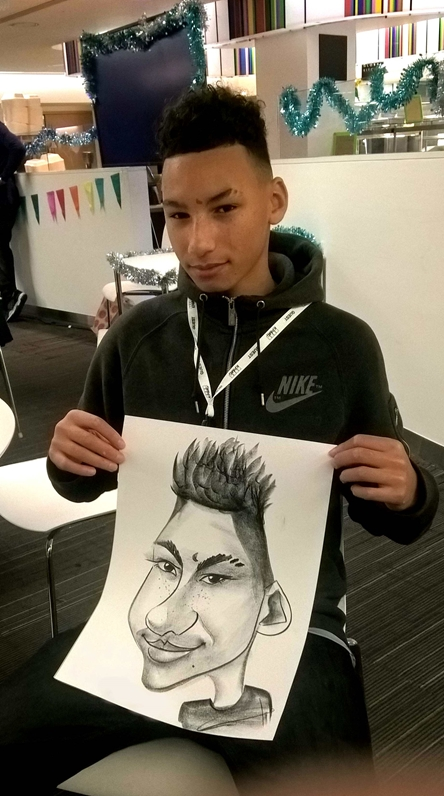 Promo Alex Caricatures Caricaturist London