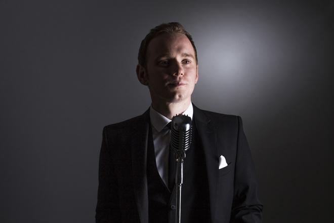 Promo James Lewys Rat Pack Singer London