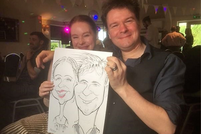 Promo You Know Who Caricatures Caricaturist Staffordshire
