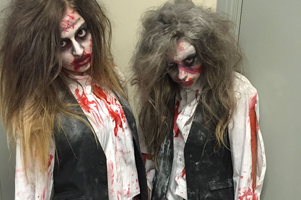 Promo Zombie Flash Mob Halloween Themed Dancers Leicestershire