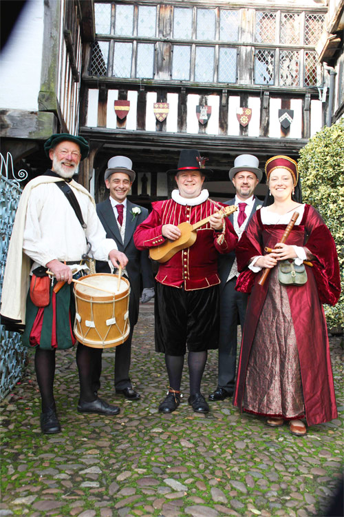medieval musicians & medieval minstrels for hire