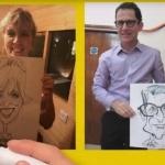Video The Caricaturetainer Caricaturist Berkshire