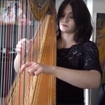 Video Catalana Harpist London
