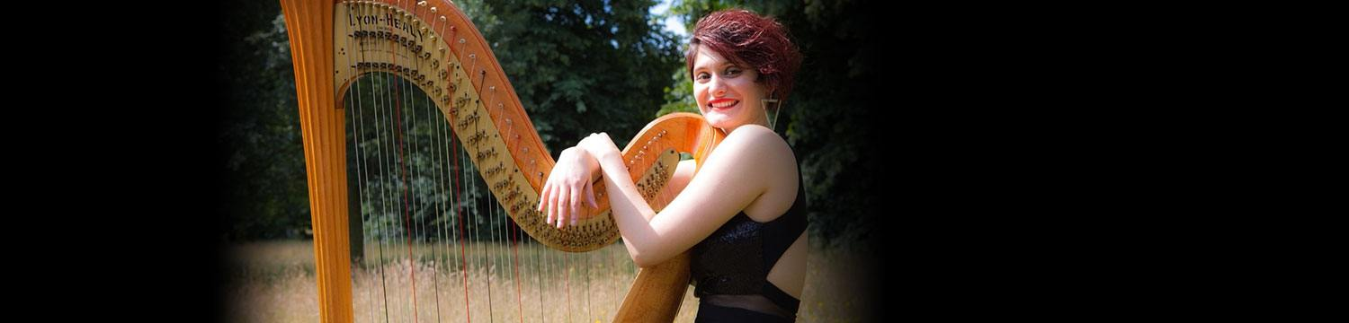 catalana harpist london