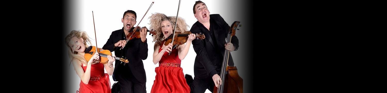comedy string quartet string quartet london