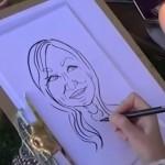 Video C R Caricatures Caricaturist Telford, Shropshire